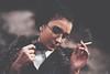 (mstfrcpkrds) Tags: portrait porte girlportrait canon canon5dc 50mm selfportrait colorless nocolor outdoorphoto smoke cigarette