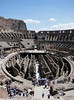 Colosseum perspective, below to the heights (Monceau) Tags: colosseum rome interior vast