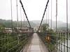 Jingan Suspension Bridge, Shifen. (natureflower) Tags: suspension jingan shifen pinxi district new taipei city mist showerrain taiwan