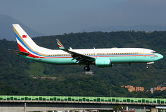 """ROCAF """"AF1"""" Boeing 737-800(WL) #3701 (Manuel Negrerie) Tags: rocaf boeing b737800 3701 tsa songshan airport livery af1 taiwan jetliners airliners jet planes b737 winglets canon flight design aviation taipei"""