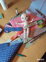Waiting for a new dress (✿ abby_otter ✿❀ ❁ ✾) Tags: enyo bjd doll poupée irrealdoll sewing dollclothes vêtementsdepoupées