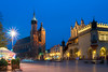 Main Square, Cracow, Poland (Janos Kertesz) Tags: building architecture city old europe facade tower historic sky history tourism exterior travel historical krakau kraków cracow starymiasto rynekglowny polska poland polen marienkirche tuchhalle kosciólmariacki sukiennice