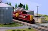 Ambling through Iowa (Jeff Carlson_82) Tags: rockisland crip ri ho hoscale modelrailroad model boxcar depot station mediapolis ia iowa 1286 1277 atlas custom train railroad railway
