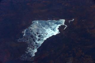 Australia's ephemeral salt lake Mackay