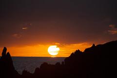 Challaborough Sunset (Jack Watson Film + Photo) Tags: challaborough beach sunset sun orange golden hour