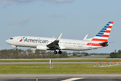 N959AN  B737-823(WL)  American Airlines (n707pm) Tags: n959an b737 boeing 737800 737 737wl airport airplane aircraft airline kmco mco orlando usa florida aal americanairlines 25092017 orlandomccoyairport cn30828