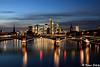 Frankfurt am Main (schulzk52) Tags: nacht night frankfurt longexposure skyline brücken main frankfurtammain hessen deutschland de