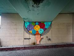 Street Art (WeekendPlayer) Tags: street streetphotography art color wall colors under bridge walk side city urban life streetart istanbul
