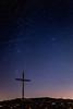 Pide un deseo (Japo García) Tags: estrella fugaz cruz montaña noche estrellas cielo