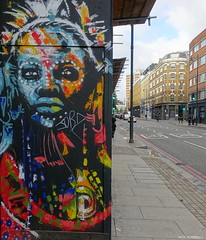 Raphael GINDT (BE'N 59. Street photographer) Tags: streetart londres london raphaelgindt gindtart
