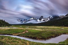 sinusoidal (john dusseault) Tags: rockies alberta peterlougheedprovincialpark smutscreek valley clouds flickr longexposure