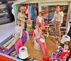 MY CHRISTMAS PRESENT TO MYSELF (ModBarbieLover) Tags: bed fashion doll 1965 allan deluxe house skipper barbie vintage dream vanity pyjamas midge wardrobe sears exclusive