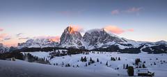 Seiser Alm (Chris Buhr) Tags: seiser alm dolomiten italien italy südtirol tirol alpen berge landschaft landscape panorama leica chris buhr outdoor schnee snow