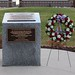 Wreath laid at 42nd Infantry Division Memorial