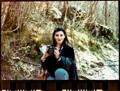 Jessica (davideglerean) Tags: lago di cornino color plus colorplus kodak portrait nature