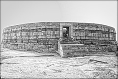 a wait for nothing... (parth joshi) Tags: history architecture centralindia temple ancienthistory ancienttemple monuments offbeat travelphotography heritage culture roadtrip outback mitaoli morena chausathyoginitemple ekattarsomahadevatemple
