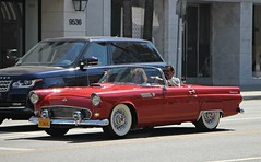 1955 Ford Thunderbird (SPV Automotive) Tags: 1955 ford thunderbird roadster convertible classic sports car red