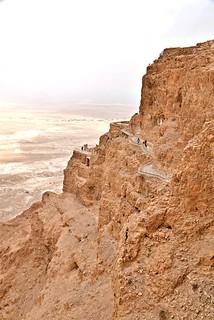 Northern Palace, Masada National Park, Judaean Desert, Israel