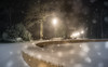 Nightly Wonderlands (--Conrad-N--) Tags: winter park sony shadow silhouettes snow ice brunnen frozen forest frost cold flakes a7rm2 za fürstenwalde