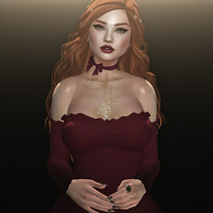 glitter (Apple aka Ossia) Tags: second life blogger blueberry catwa song suicidal unborn veechi truth voluptas virtualis cx cerberus xing blogging blog redhead ginger portrait photograph photography photoshop