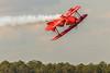 Sean Tucker Oracle Inverted (hetrickwesley) Tags: 2017 80d airplane airshow canon florida jacksonville nasjax navy stunt seantucker oracle biplane red propeller inverted