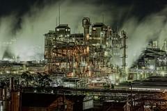 信越ポリマー周南 (ogizooo) Tags: factorynightview nightphoto nightscape longexposure