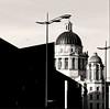 Cupolas, Port of Liverpool Building (ronramstew) Tags: liverpool merseyside docks dockland buildings building portofliverpoolbuilding pierhead waterfront