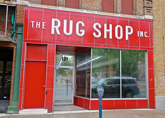 The Rug Shop Inc., Binghamton, NY (Robby Virus) Tags: binghamton newyork ny upstate rug shop inc incorporated store storefront business red 121