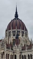 Országház (Hungarian Parliament Building), Budapest (LLysaght) Tags: renaissancerevivalarchitecture parliament government donau danube budapest landmark touristattraction