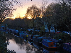 "Autumn dusk, Little Venice, London • <a style=""font-size:0.8em;"" href=""http://www.flickr.com/photos/89578620@N00/37636407175/"" target=""_blank"">View on Flickr</a>"