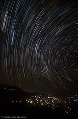 Startrails-2 (toofan.v) Tags: landscape bageshwar sigma1020mm toofan vimaljoshi astrophotography night sky wideangle stars moon chaukori chakori