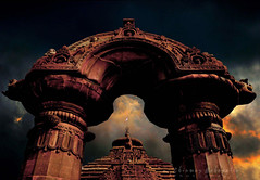 A gate to heaven (chinmaymohapatra) Tags: flickertravelaward india odisha heaven shiva god flicker flickrtravelaward mukteswara temple architecture
