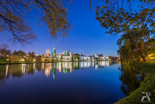 Novodevichy Convent Blue Hour