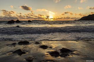 West dale sunset