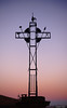 Sunset on the cross (Le dahu) Tags: light monument sunlight sky color colorful outdoor d610 fx 50mm darktable france gers