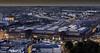 Leipzig Hauptbahnhof (FH | Photography) Tags: leipzig sachsen deutschland bahnhof hauptbahnhof innenstadt vonoben architektur gebäude empfangsfebäude altstadt stadt reise transport infrastruktur shopping portal häuser horizont reisen tourismus gleise bahn eisenbahn wahrzeichen zentrum weitsicht aussicht ausblick überblick gasometer strasse city abends sonnenuntergang sunset licht hbf