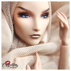 Elise heady to go home #metaliclipstick #fashionroyaltydoll (Castellar Doll Makeup) Tags: metaliclipstick fashionroyaltydoll