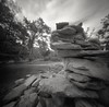 River Rocks (summit-photo) Tags: realitysosubtle 6x6f 6x6 120 pinhole bnw bw blackandwhite monochrome fujifilm neopan acros rodinal