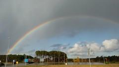 Tras la tempestad..... (pedalinpitu) Tags: iris arcoiris colores cielo nubes asturias castropol