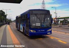 TranSantiago (Subus Chile S.A.): Caio Mondego L - Volvo B7R LE (ZJ1649) (Alexongis) Tags: subuschile chile subus busologia zj1649 zjdesubus volvob7r l mondego caio