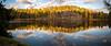 Fall pano (Jens Haggren) Tags: fall autumn light lake trees water reflections nacka sweden jenshaggren