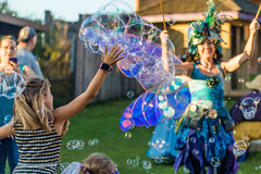Bubbles, Bubbles Everywhere (Brian Bogovich) Tags: festival summer outdoors bubbles wings kids renfair fairy pennsylvania westernpa pa pittsburghrenaissancefestival costume pittsburgh fairywings westnewton unitedstates us