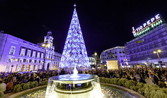 Madrid Navidad 2017 (estebanjvr) Tags: madridciudad nocturnas navidad puertadelsol españa spain