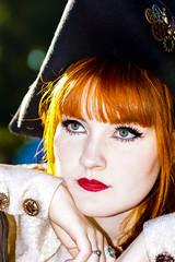 DSC05370 fin (fotokunst_kunstfoto) Tags: portrait woman redhair blueeyes youngwoman piraten piratentochter steampunk