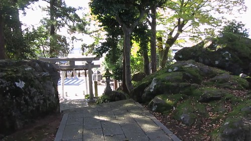 mid-morning Ibe Shrine, Takefu