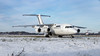 EI-RJC (Al Henderson) Tags: aviation avro bedfordshire cityjet cranfield e2333 egtc eirjc planes rj rj85 snow stored unmarked winter