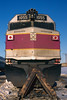 F40 Portrait (DJ Witty) Tags: mbta emd dieselelectric f40 railroad photography nikon n8008 fujichrome transit rr locomotive southboston massachusettes usa