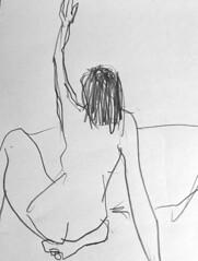 croquis modelo vivo (eltiodiego) Tags: dibujo figura humana modelo vivo