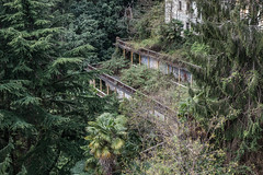 Sanatorium Cannobio abandoned in Italy