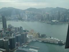 IMG_0585 (Sweet One) Tags: icc sky100 observationdeck view city skyline buildings towers hongkong harbour